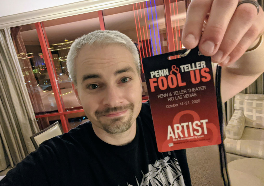Official artist credentials
